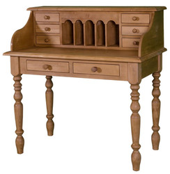 Casa Padrino desk in the country house style in brown 109 x 60 x H. 110 cm - country house style collection