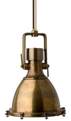 Casa Padrino luxury pendant lamp in antique brass 48 x H. 68 cm - industrial light collection