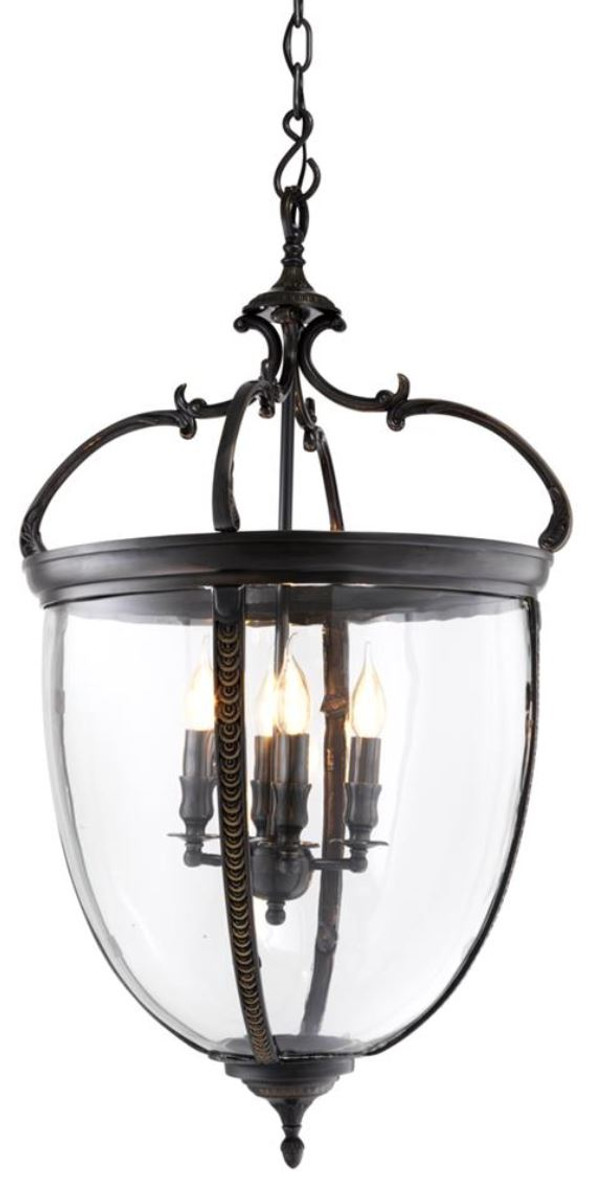 casa padrino luxus wohnzimmer h ngeleuchte rotguss 49 x h. Black Bedroom Furniture Sets. Home Design Ideas