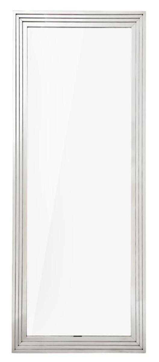 casa padrino wohnzimmer spiegel silber 86 x h 219 cm luxus wandspiegel spiegel luxus spiegel. Black Bedroom Furniture Sets. Home Design Ideas