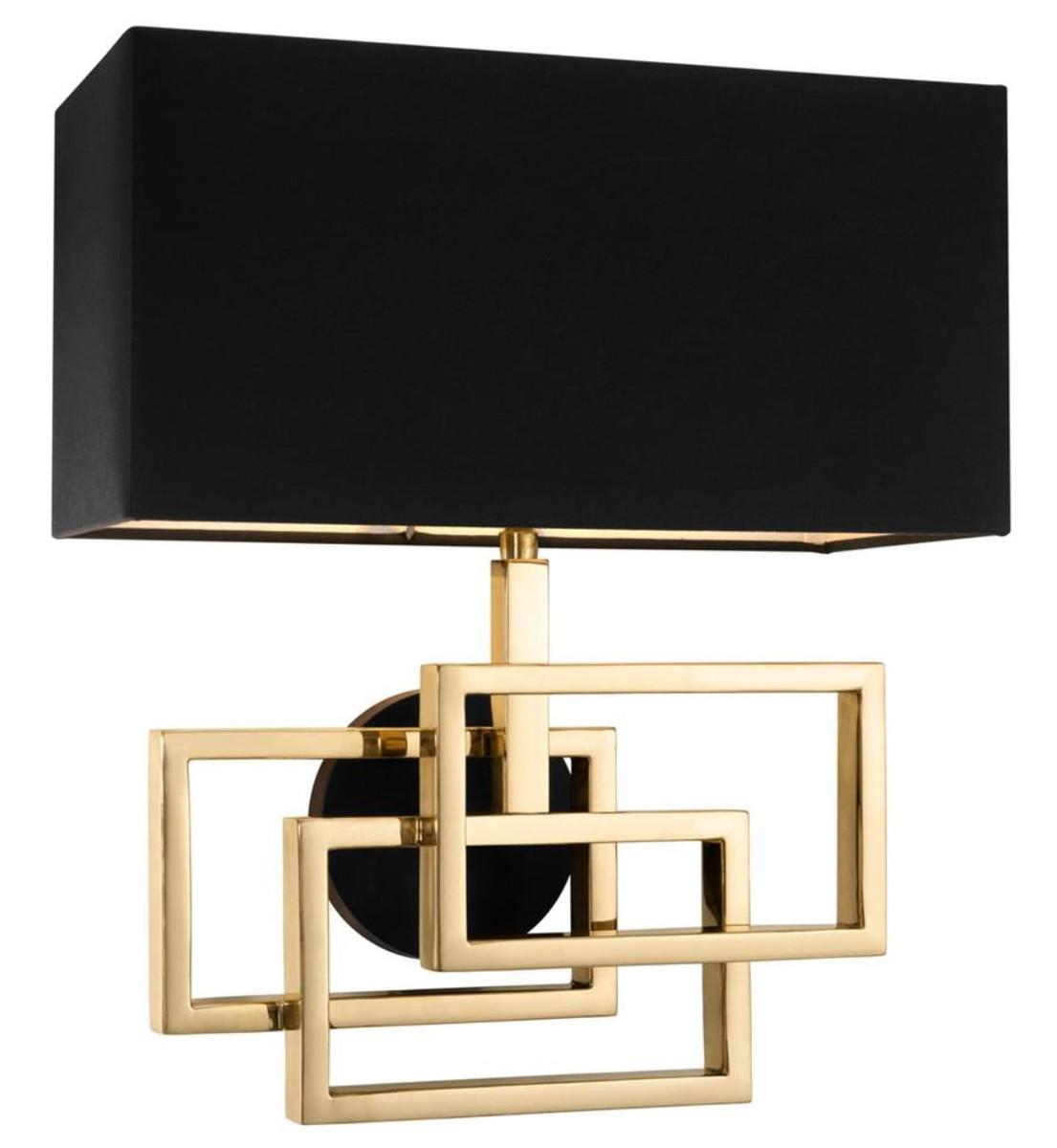 Genial Designer Wandleuchten Das Beste Von Casa Padrino Wandleuchte In Gold Mit Schwarzem