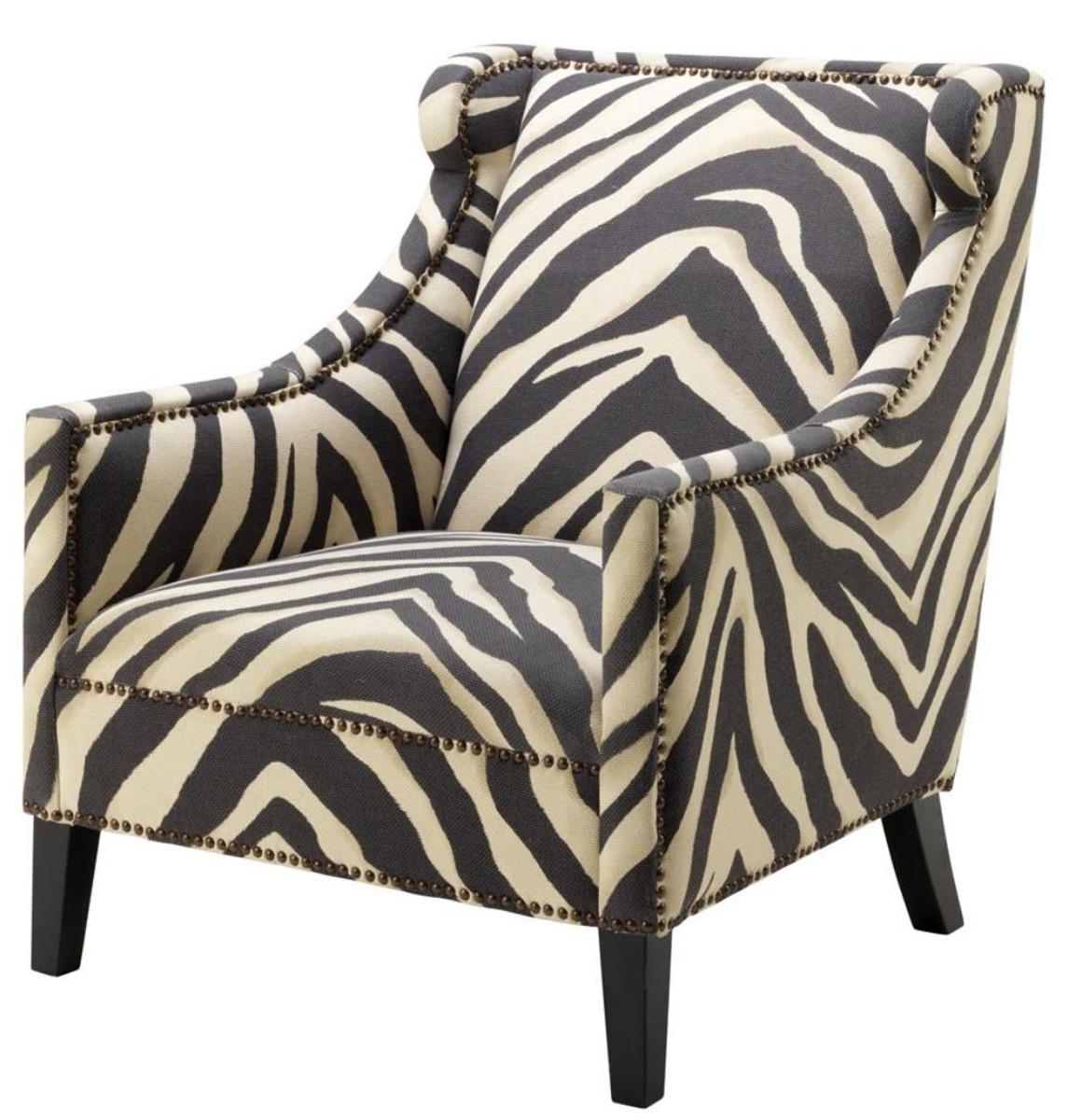 Casa Cm 81 Luxus Im Sessel Padrino X Zebra Design 74 H89 HEW29IDY