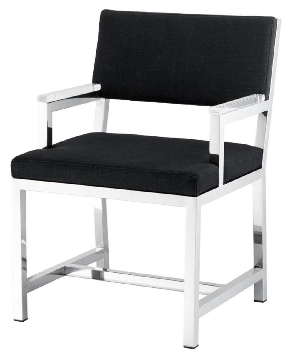 Casa padrino designer chair with armrests 55 x 59 x h 82 for H furniture ww chair