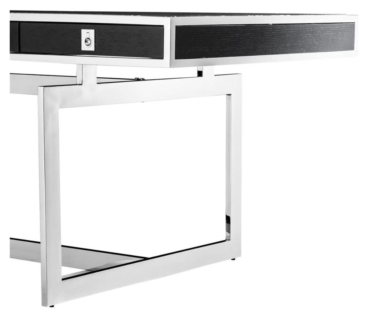 Casa Padrino Luxus Schreibtisch mit 4 Schubladen 190 x 90 x H. 74,5 cm - Luxus Kollektion 2