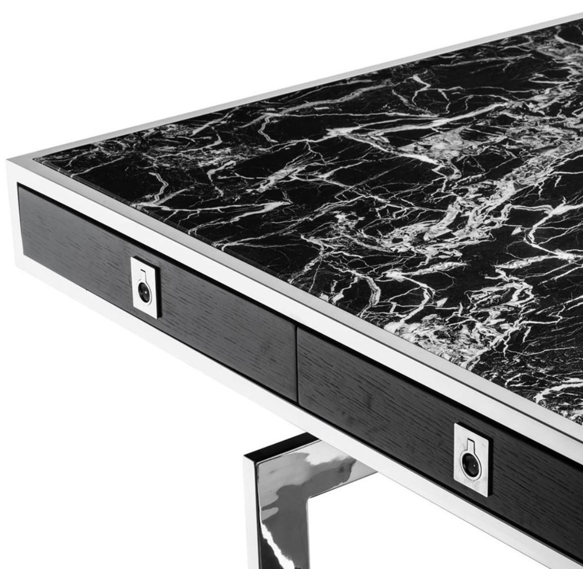 Casa Padrino Luxus Schreibtisch mit 4 Schubladen 190 x 90 x H. 74,5 cm - Luxus Kollektion 3