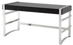 Casa Padrino luxury desk with drawer 150 x 73 x H. 80 cm - designer office furniture