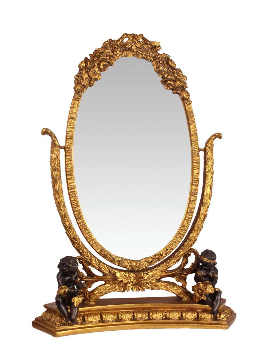 Casa Padrino Baroque Mirror Mirror Gold H 852 Cm Luxury Make Up