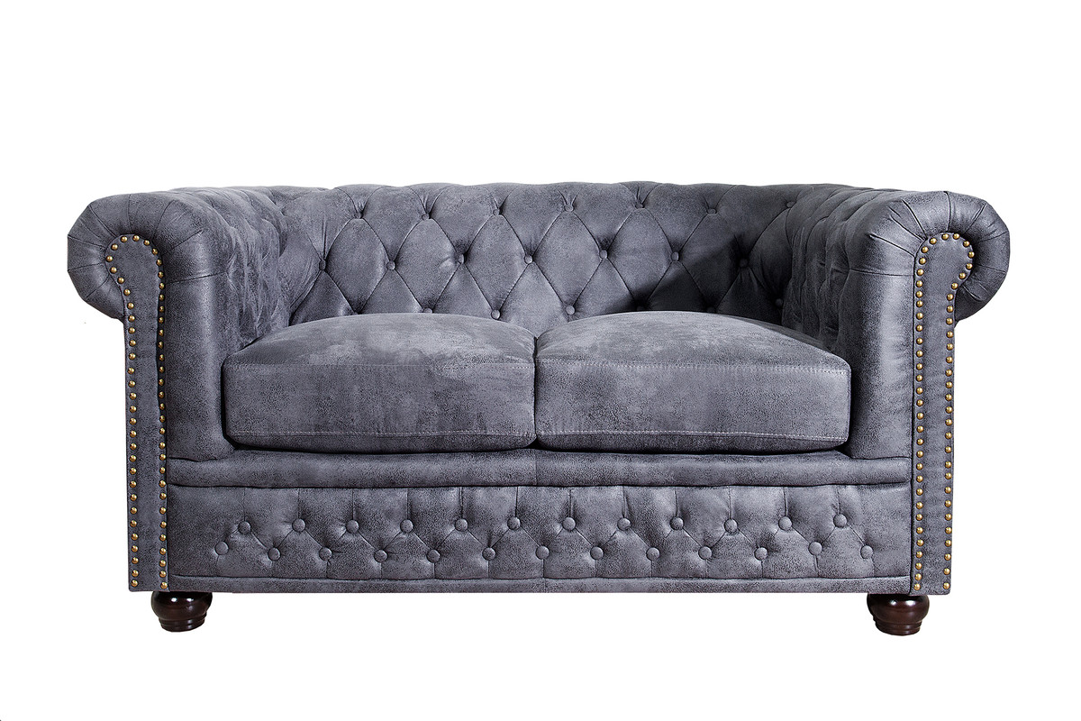 Attraktiv 2 Er Sofa Das Beste Von Chesterfield 2-seater Antique Gray From The E