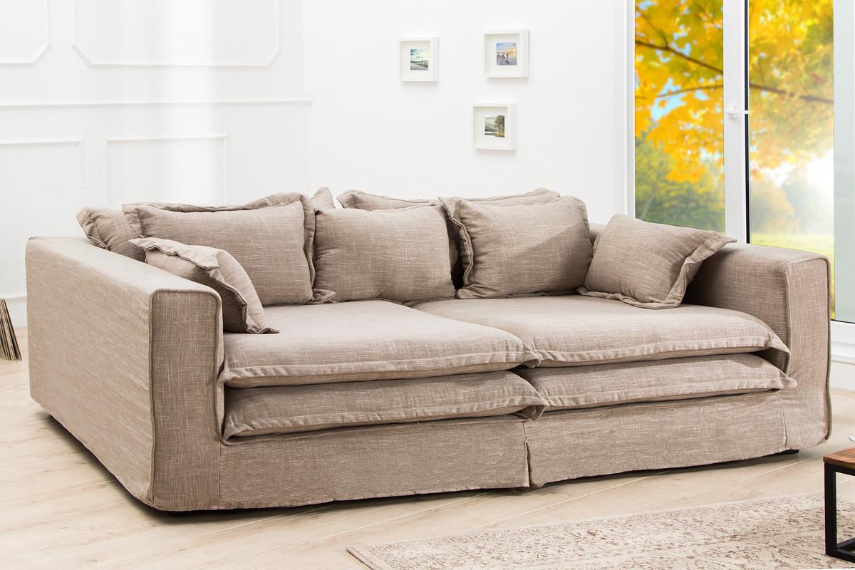 Casa Padrino Designer Wohnzimmer Sofa Sandfarbig Luxus Qualit T Chesterfield M Bel
