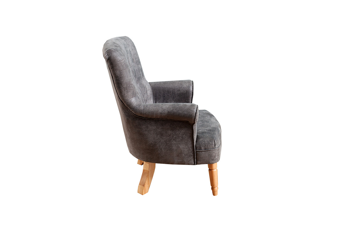 casa padrino chesterfield armchair antique gray armchairs luxury hotel restaurant chairs. Black Bedroom Furniture Sets. Home Design Ideas