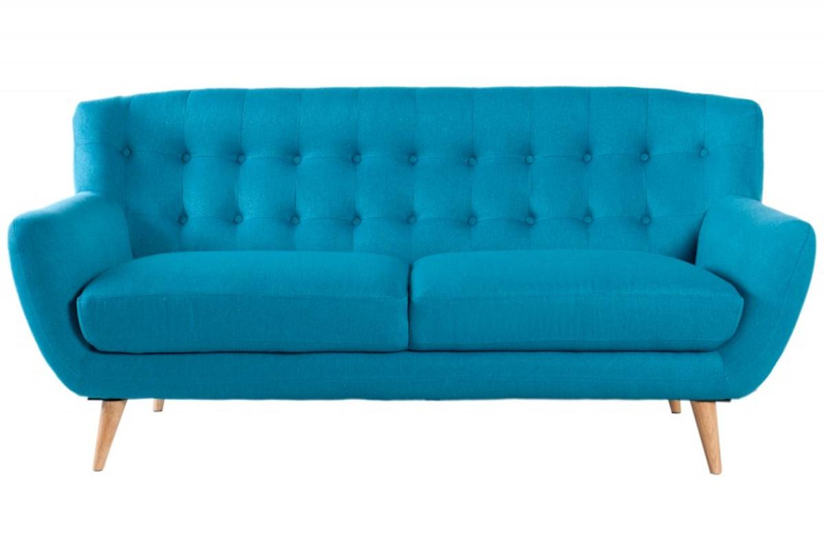 Chesterfield 3er Sofa blau aus dem Hause Casa Padrino - Wohnzimmer ...