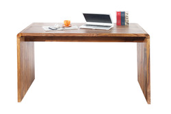 Casa Padrino Designer writing desk Solid wood 150 cm - Secretary console - Computer table