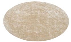 Casa Padrino Luxury Designer Carpet Beige Diameter 280 cm - Limited Edition