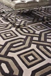 Casa Padrino designer rug made of New Zealand wool 200 x 300 cm - luxury living room carpet