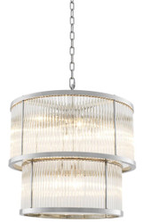 Casa Padrino Chandelier Silver 55 x H. 59 cm - Luxury Collection
