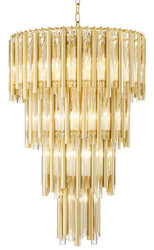 Casa Padrino luxury chandelier gold diameter 57 x H. 88 cm - hotel furniture