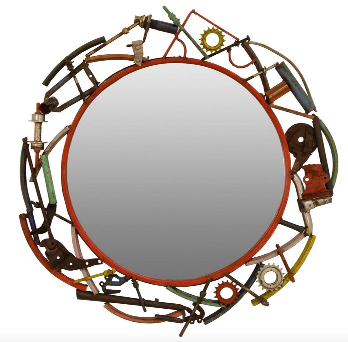 casa padrino designer wandspiegel durchmesser 83 cm designer wohnzimmer accessoires spiegel. Black Bedroom Furniture Sets. Home Design Ideas