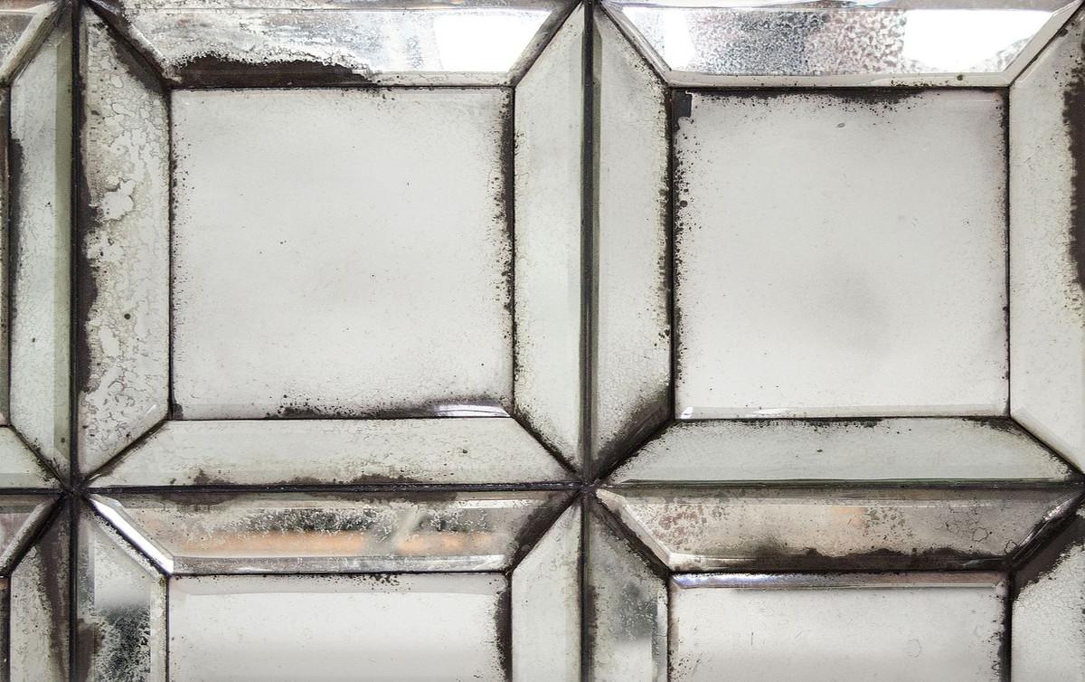 Casa Padrino specchio da parete design con vetro specchio antico 80 x H.  140 cm - specchio soggiorno