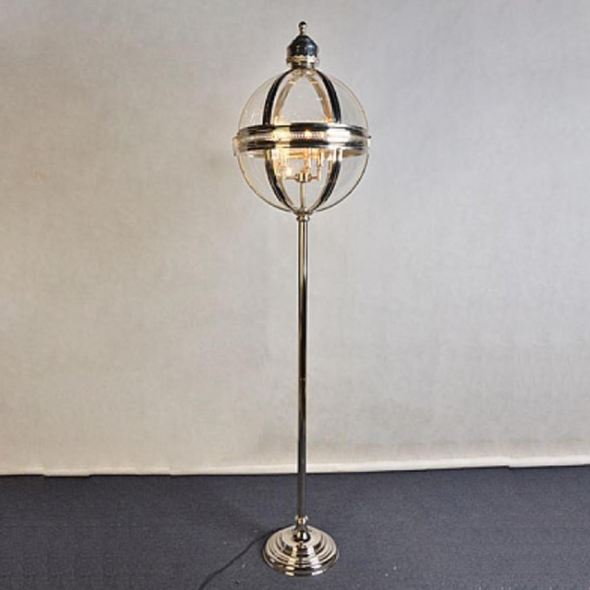 Brilliant Stehleuchte Silber Foto Von Casa Padrino 43 X H. 183 Cm