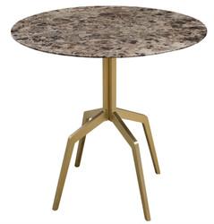 Casa Padrino Luxury Dining Table Gold / Black 80 x H. 76 cm - Dining Room Furniture