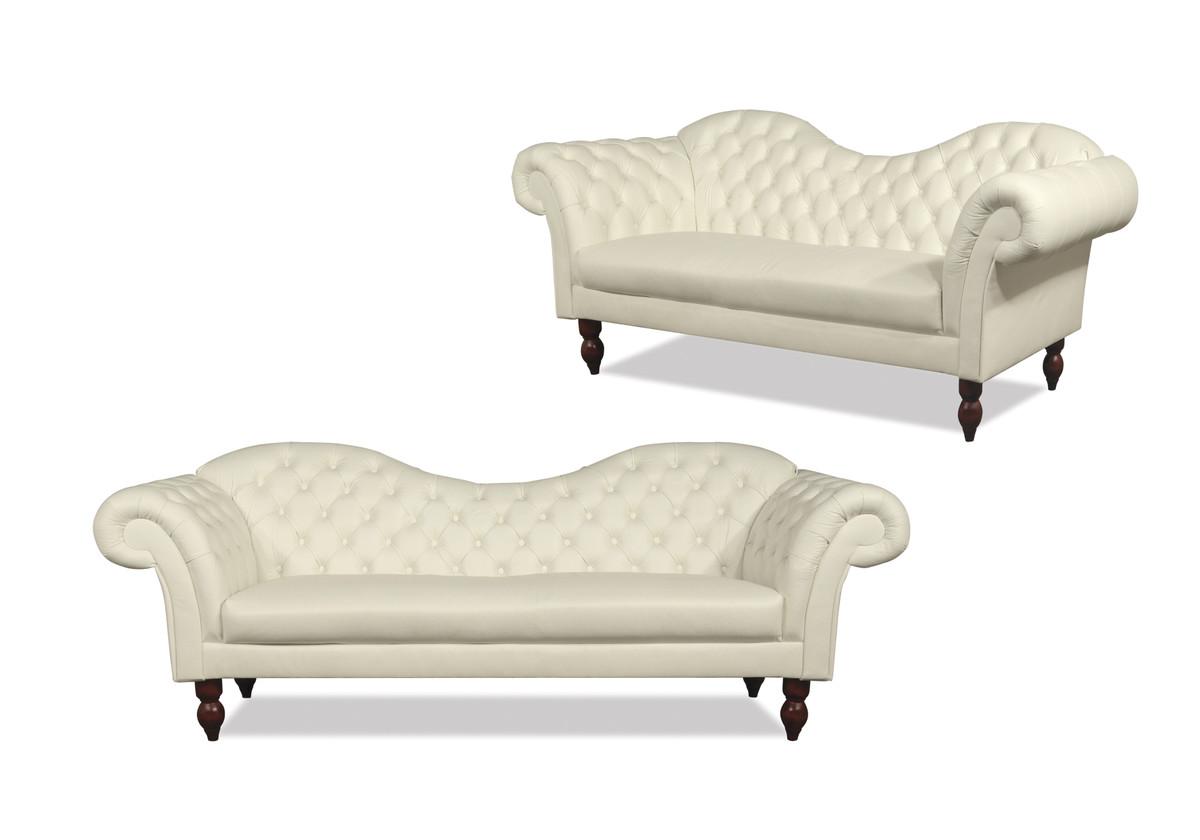 casa padrino chesterfield 3er sofa venedig echt leder creme chesterfield m bel chesterfield sofas. Black Bedroom Furniture Sets. Home Design Ideas