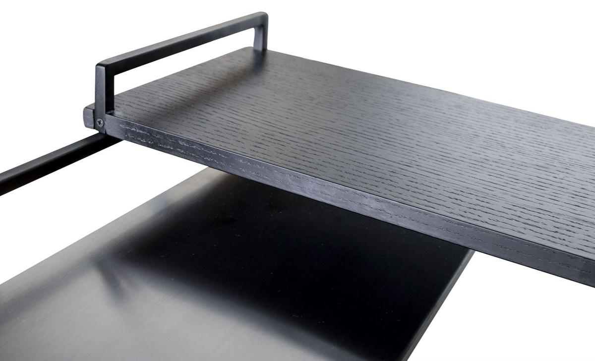 casa padrino luxus designer beistelltisch schwarz 45 x 45. Black Bedroom Furniture Sets. Home Design Ideas
