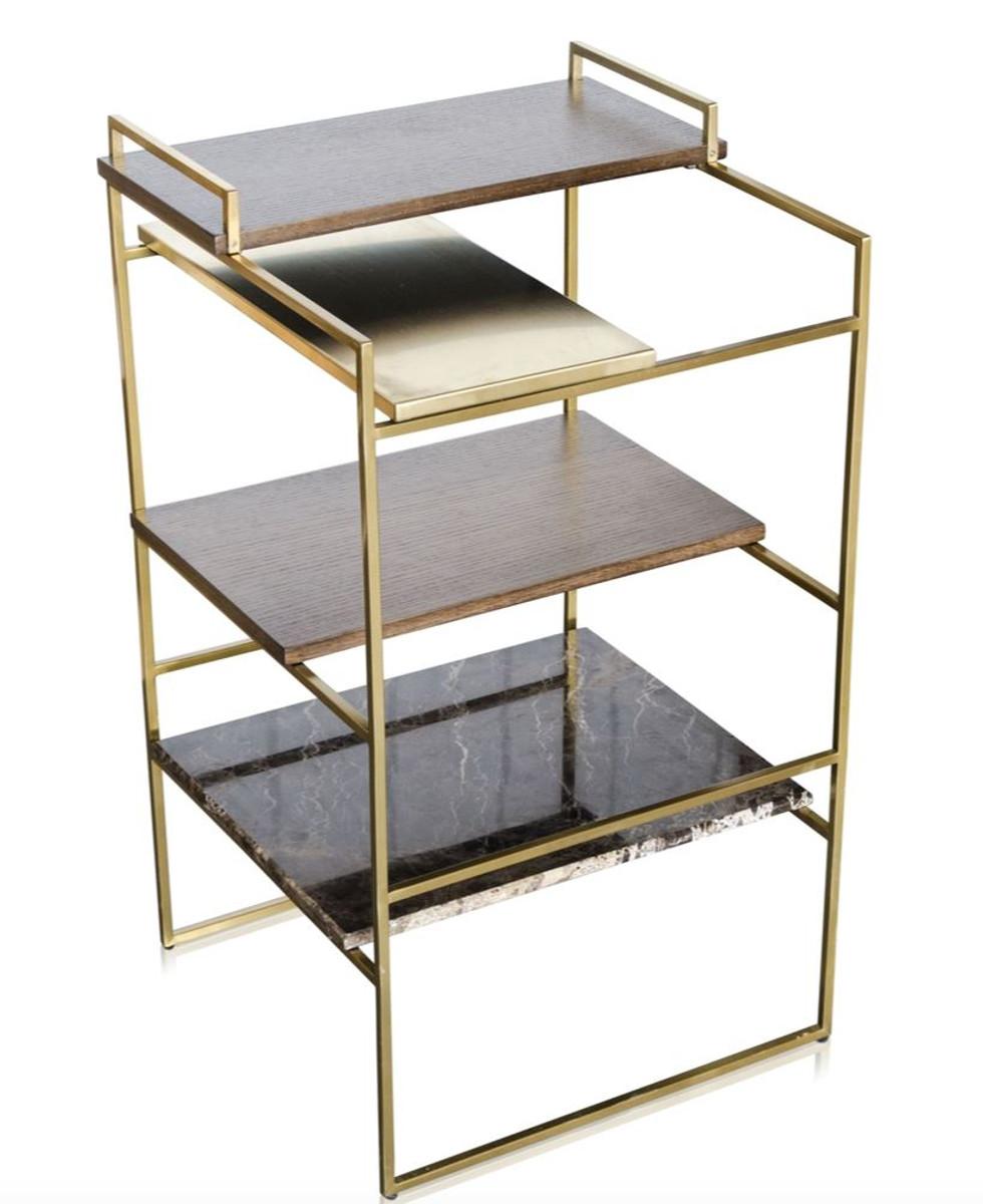 casa padrino luxus designer beistelltisch gold 45 x 45 x h 80 5 cm designer m bel. Black Bedroom Furniture Sets. Home Design Ideas