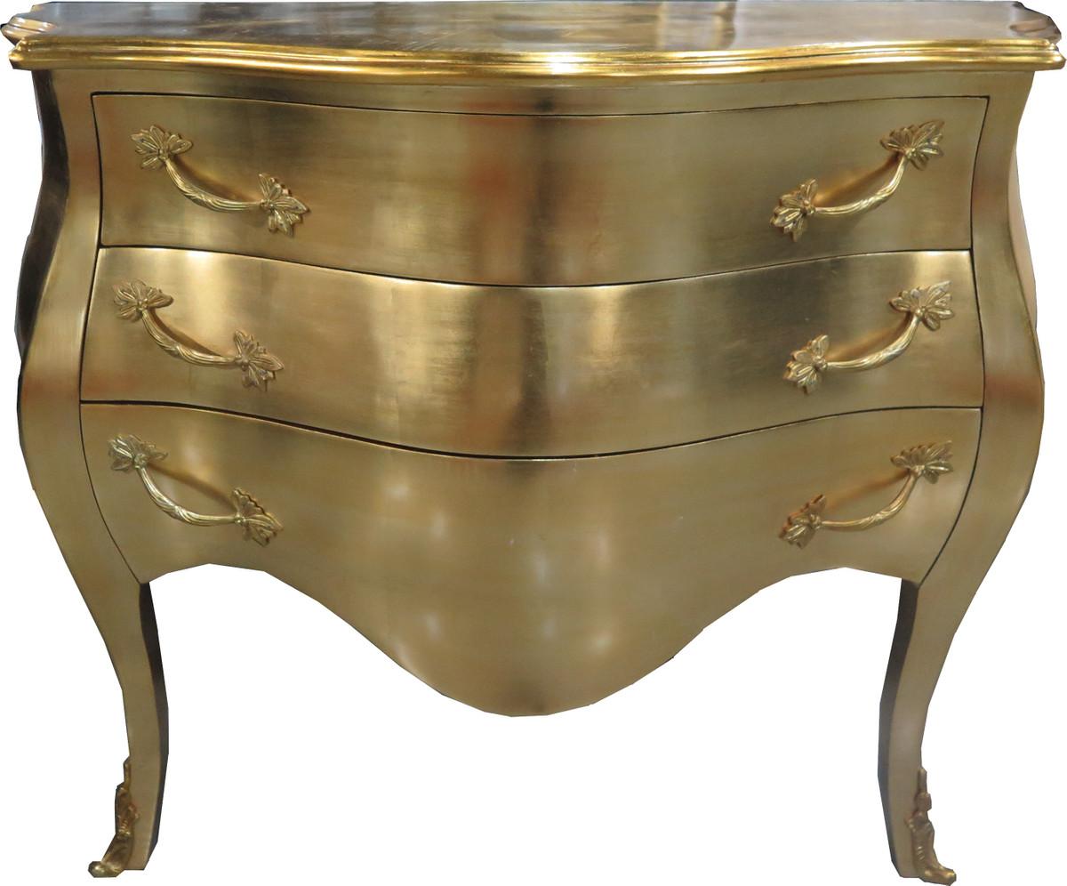 casa padrino barock kommode gold 100 cm antik stil m bel. Black Bedroom Furniture Sets. Home Design Ideas