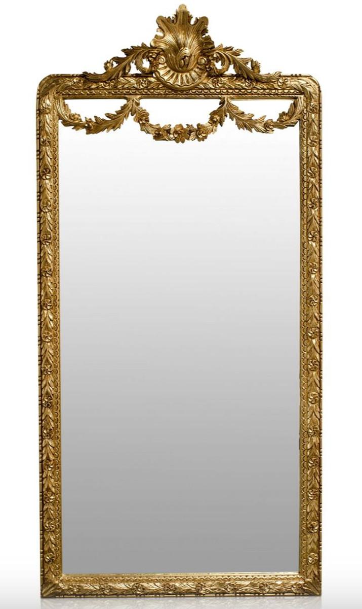 casa padrino barock spiegel gold 120 x h 242 cm barock wandspiegel spiegel barock spiegel. Black Bedroom Furniture Sets. Home Design Ideas