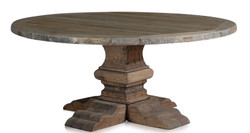 Casa Padrino luxury dining room table natural colors 180 x H. 76 cm - Dining Room Furniture