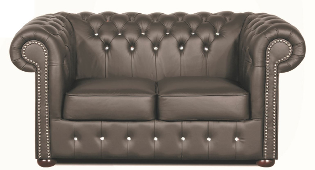 chesterfield sofa leder. Black Bedroom Furniture Sets. Home Design Ideas
