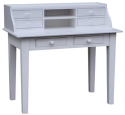 Casa Padrino desk with 6 drawers 109 x 60 x H. 102 cm - Country Style Furniture