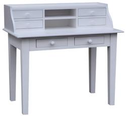 Casa Padrino Schreibtisch mit 6 Schubladen 109 x 60 x H. 102 cm - Möbel im Landhausstil
