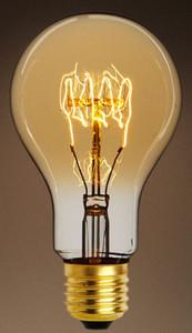 Casa Padrino Bulbs Set of 6 Antique Gold / Gold 7.5 x H 13.5 cm - Luxury Quality