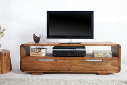 Casa Padrino luxury sideboard W.130 x H.45 x T.40 - TV cabinet - chest of drawers - Handmade from solid wood!