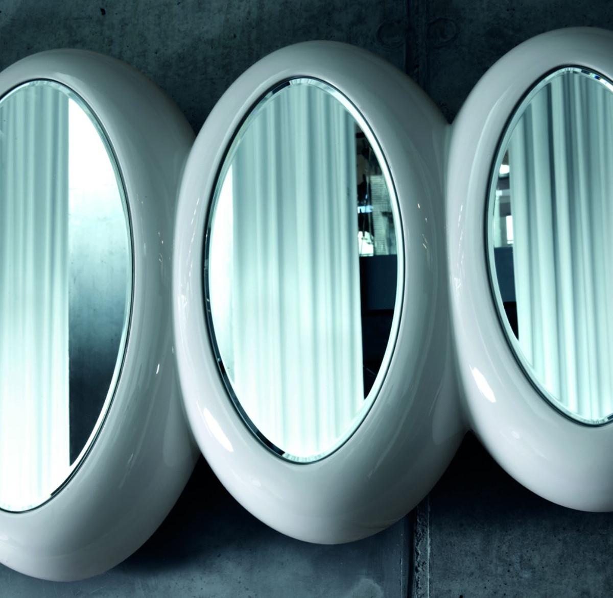 casa padrino luxus designer spiegel hochglanzwei 195 x h. Black Bedroom Furniture Sets. Home Design Ideas