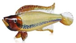 Casa Padrino Sculpture Fish - Glasswork - Figurine decor
