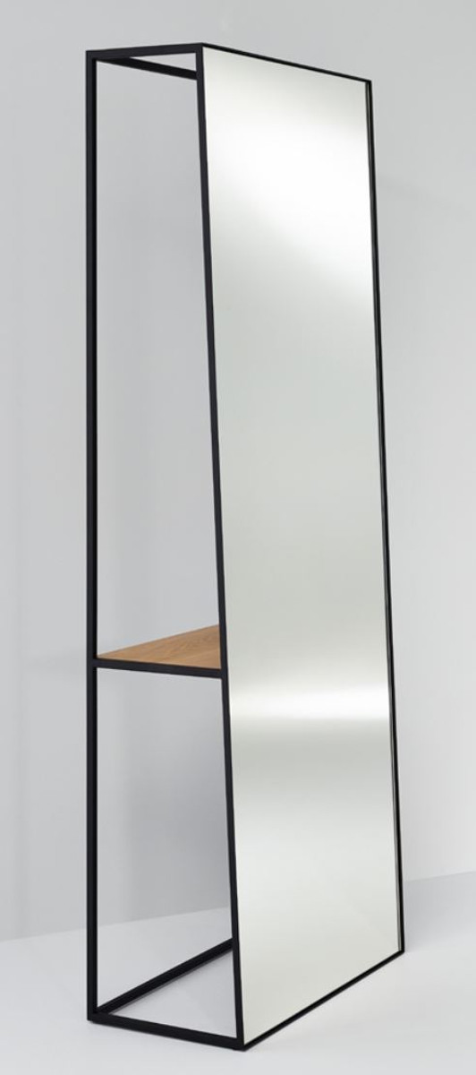 Casa padrino luxus standspiegel mit regal 65 x 32 x h 17 cm designer spiegel spiegel luxus - Regal mit spiegel ...