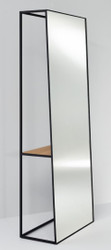 Casa Padrino luxury standing mirror with shelf 65 x 32 x H. 17 cm - Designer Mirror