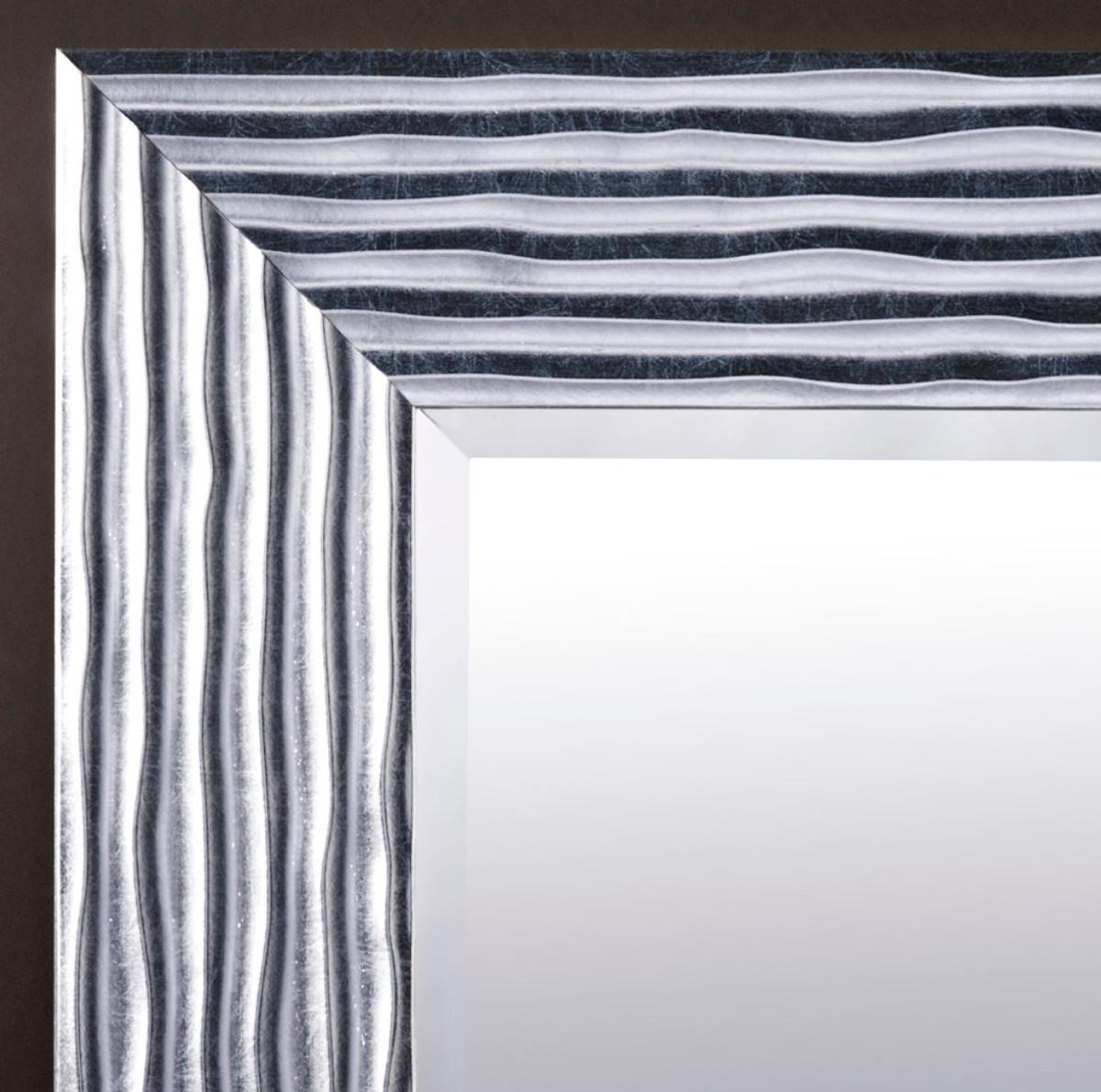 Casa Padrino Luxus Wohnzimmer Spiegel Silber 60 X H. 150 Cm   Designermöbel  U2013 Bild