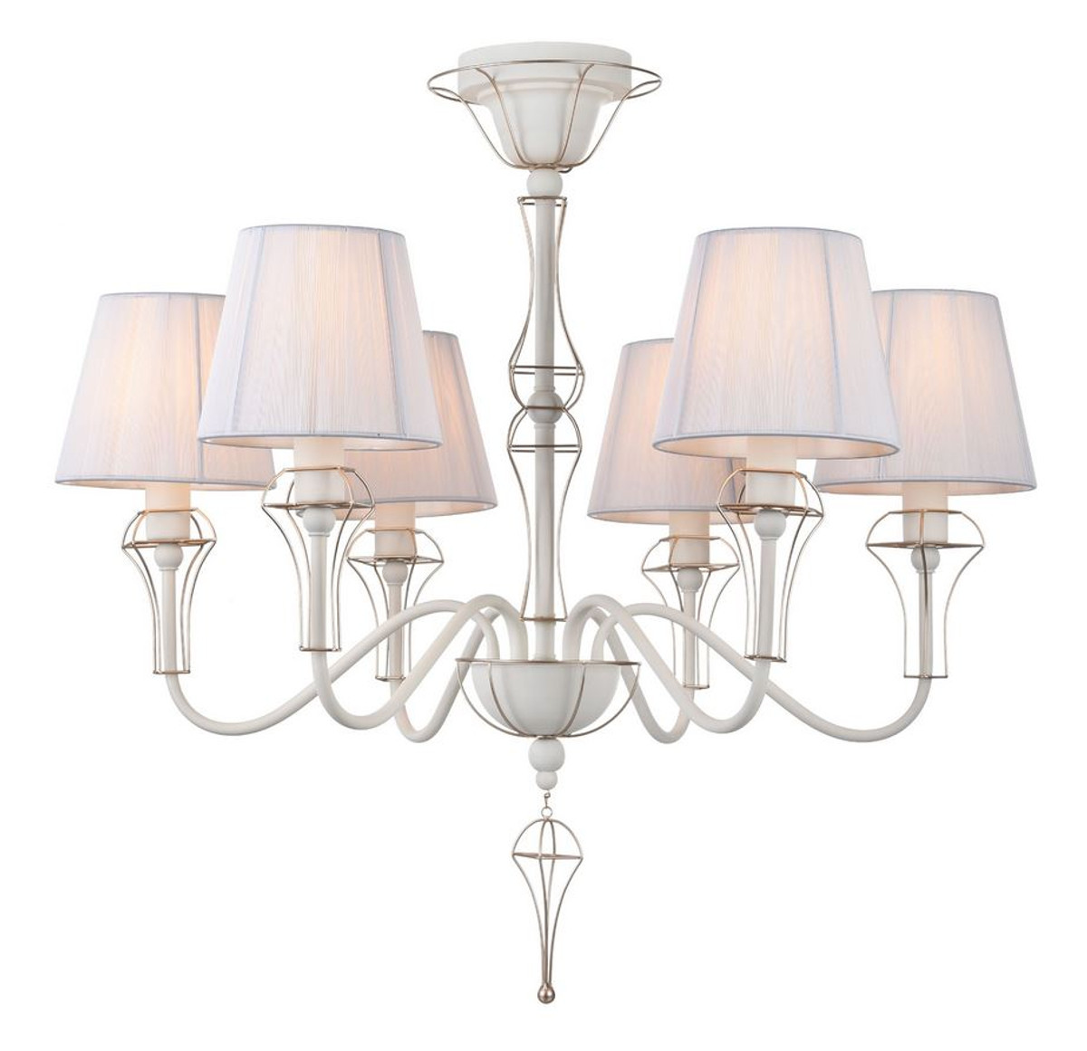 Gut Casa Padrino Baroque Style Chandelier With Decorative Gold Wire Framing    Baroque Style Lights U0026 Chandeliers