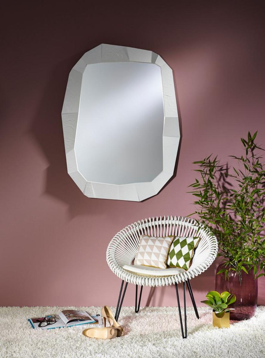 casa padrino designer wandspiegel wei 92 x h 127 cm. Black Bedroom Furniture Sets. Home Design Ideas
