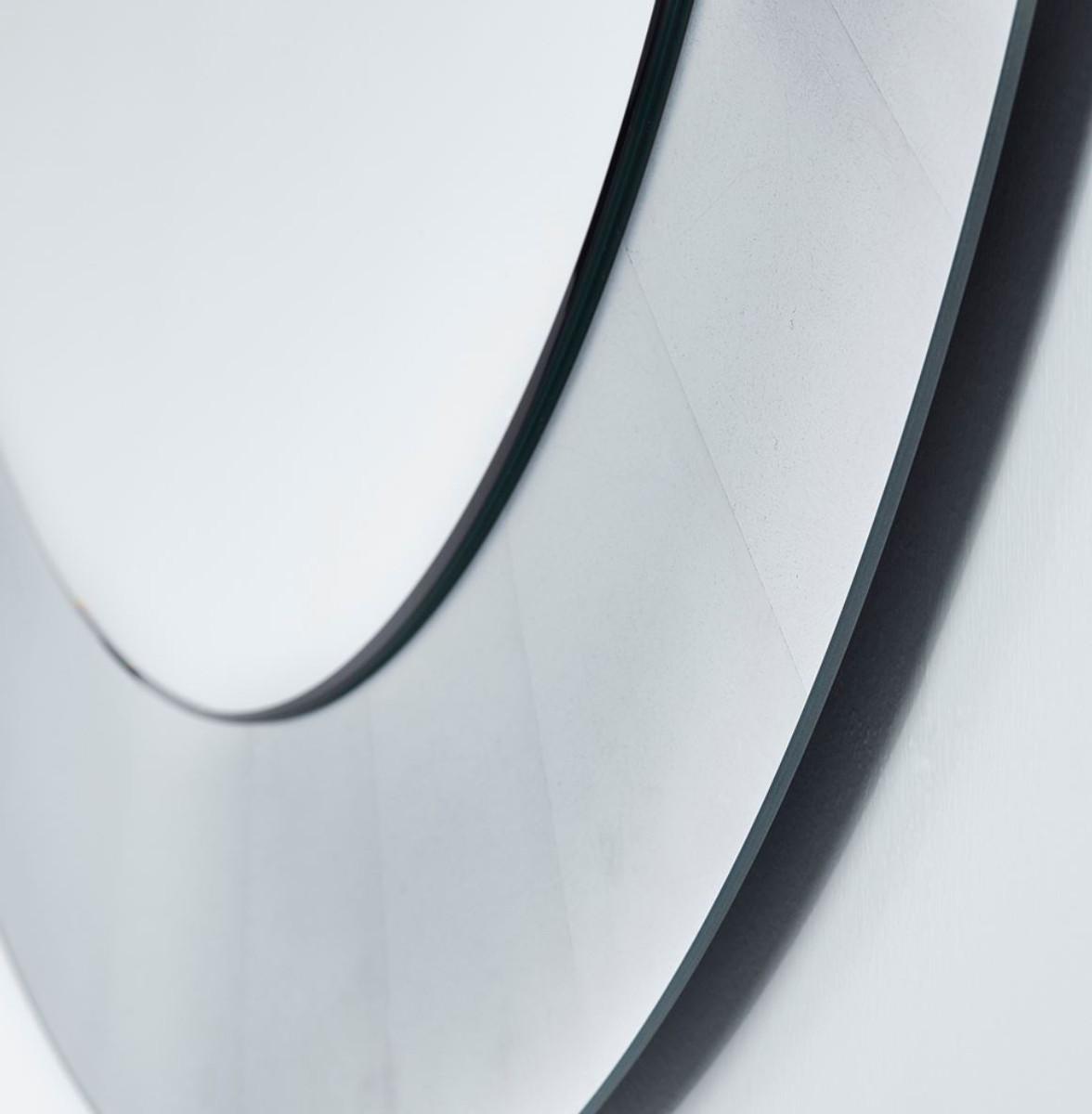 Casa padrino wohnzimmer spiegel silber 110 cm luxus - Wohnzimmer spiegel silber ...
