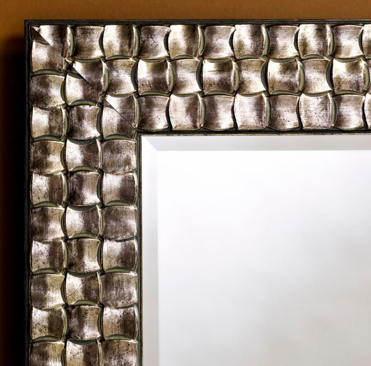 casa padrino wohnzimmer wandspiegel silber 78 x h 168 cm luxus spiegel spiegel luxus spiegel. Black Bedroom Furniture Sets. Home Design Ideas
