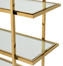 Casa Padrino luxury shelf cabinet gold 120.5 x 40 x H. 253 cm - Luxury Furniture 3