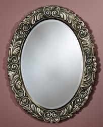 Casa Padrino baroque mirror silver 69 x H. 88 cm - Baroque Furniture
