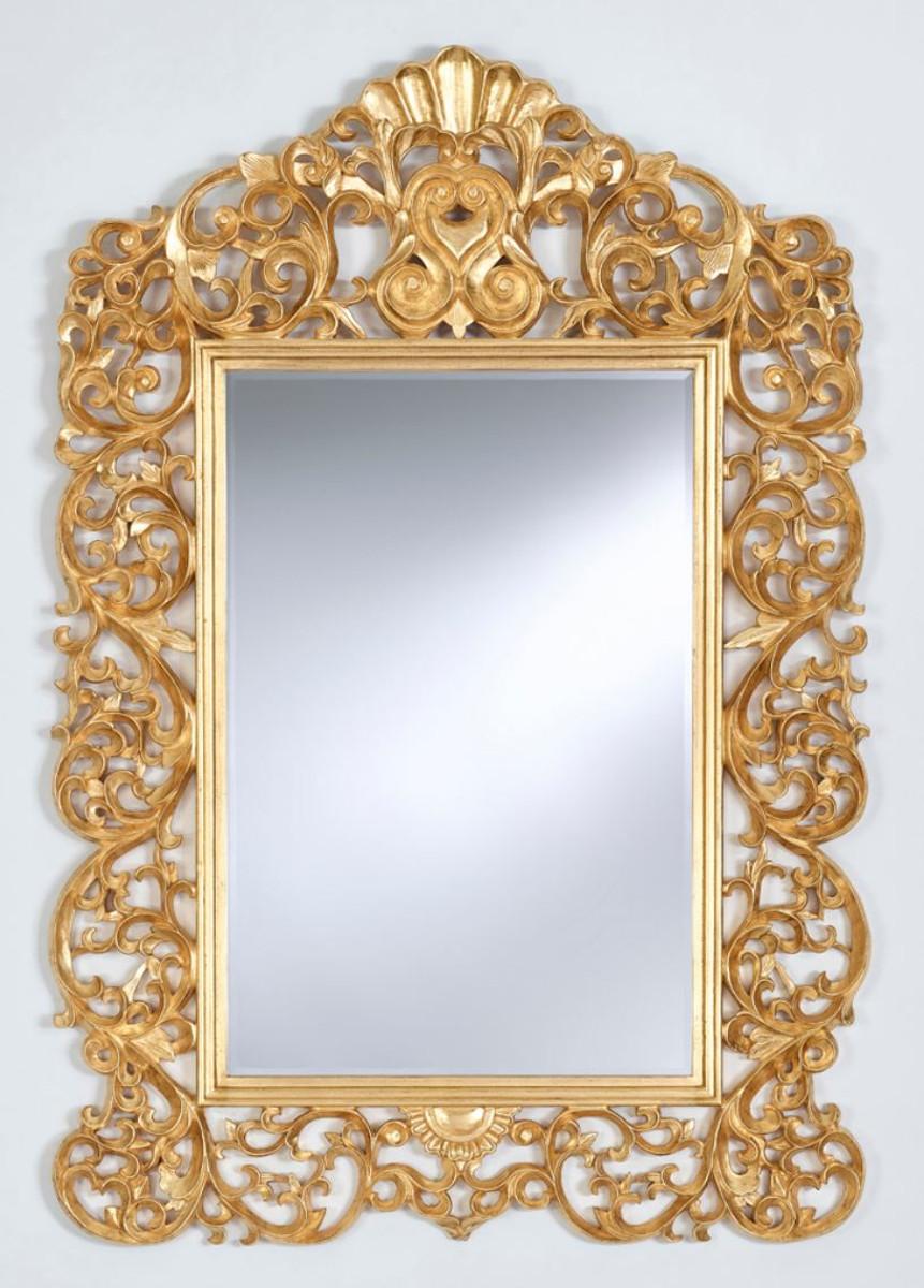 casa padrino barock spiegel gold 105 x h 154 cm edel prunkvoll spiegel barock spiegel. Black Bedroom Furniture Sets. Home Design Ideas