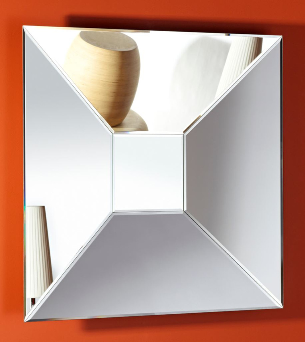 Casa padrino designer mirror 90 x 10 x h 90 cm luxury for Miroir 90x90