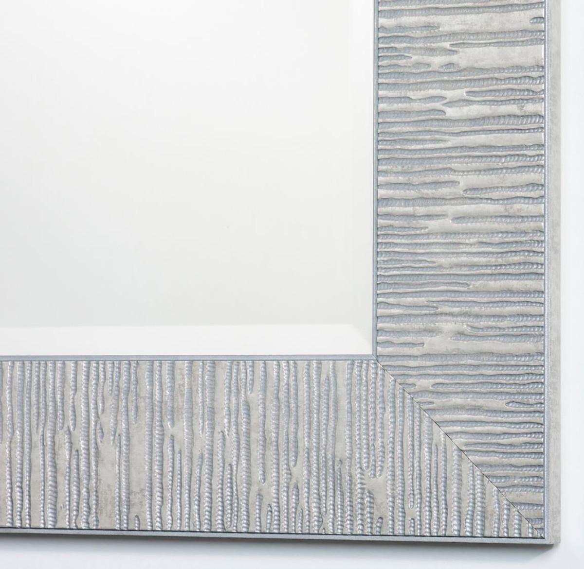 Casa padrino wohnzimmer spiegel silber 58 x h 148 cm - Wohnzimmer spiegel silber ...