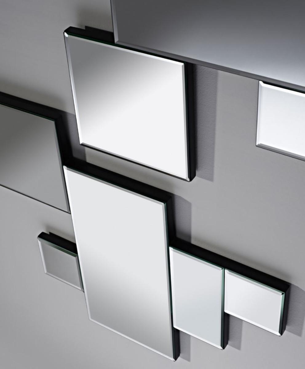 Miroir Salle De Sejour casa padrino ensemble de miroirs muraux de luxe 60 x h. 48 cm - accessoires  de salle de séjour